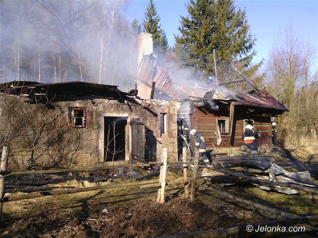 Region: Pożar domu w Borowicach