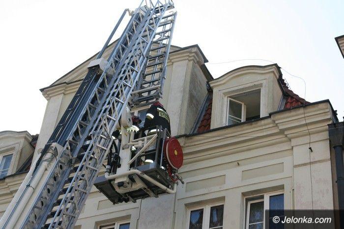 Jelenia Góra: Nie doszło do tragedii dzięki czujnikowi