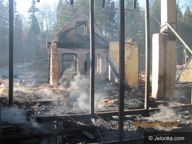 Szklarska Poręba: Pożar Muzeum Ziemi w Szklarskiej Porębie