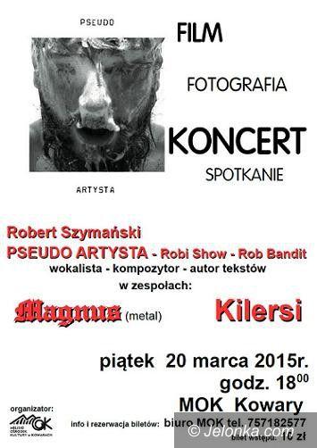 """Kowary: Koncert """"Pseudo Artysty"""" w Kowarach"""