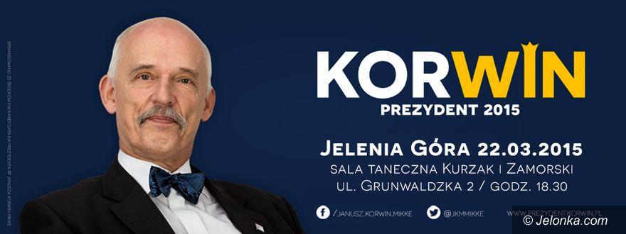 Jelenia Góra: Janusz Korwin–Mikke w Jeleniej Górze