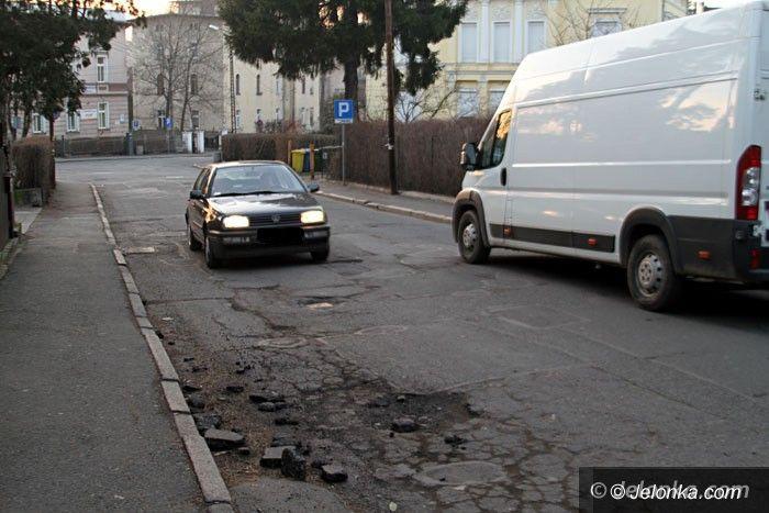 Jelenia Góra: Ulica Grottgera (znowu) do remontu!
