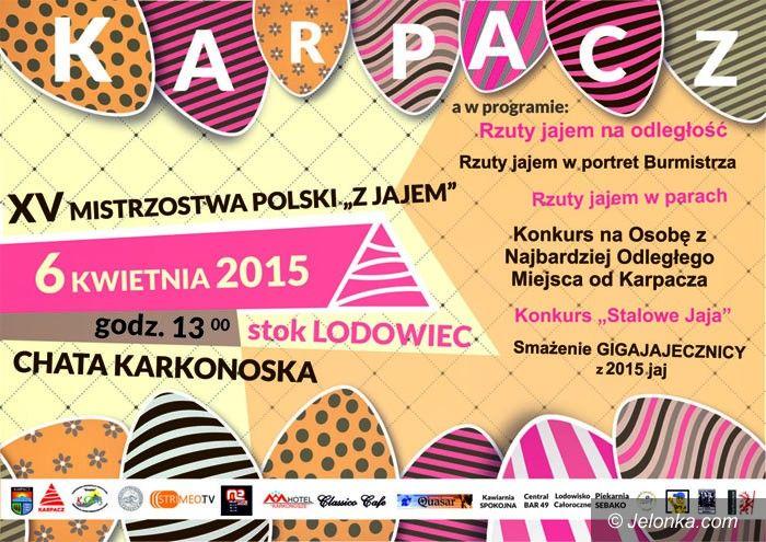 Karpacz: Mistrzostwa Polski z Jajem – pod Śnieżką