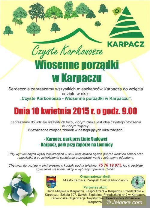 """Karpacz: Akcja """"Czyste Karkonosze"""" w Karpaczu"""