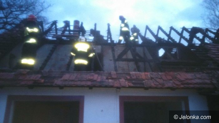 Jelenia Góra: Tragiczny pożar przy ul. Nadbrzeżnej. Nie żyje jedna osoba