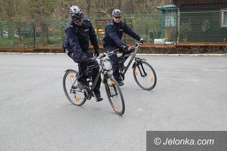 Jelenia Góra: Policyjne patrole rowerowe w akcji
