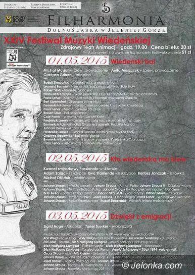 Jelenia Góra: Wkrótce 24. Festiwal Muzyki Wiedeńskiej