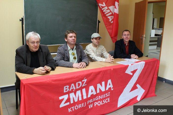 Jelenia Góra: Partia Zmiana stawia na gospodarkę i bezpieczeństwo