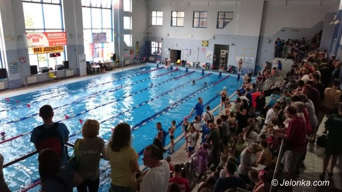 Jelenia Góra: Pływackie zawody w Jeleniej Górze