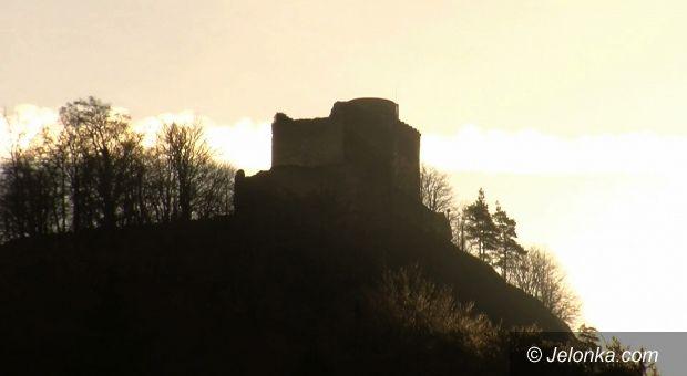 Jelenia Góra: Walą się ściany na Zamku Chojnik