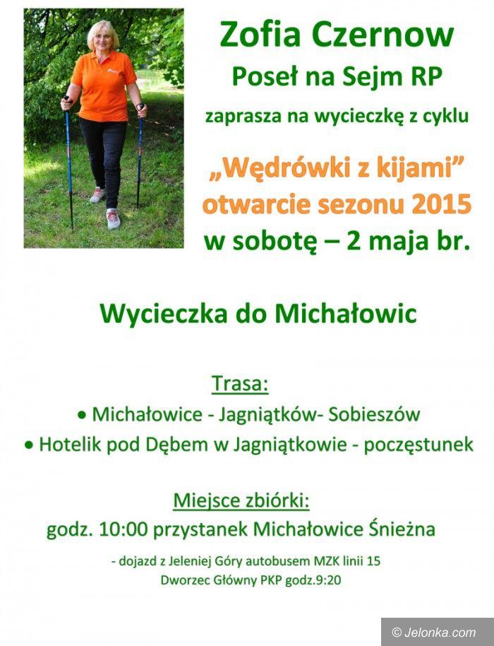 Jelenia Góra: Wędrówki z kijami – otwarcie sezonu 2015