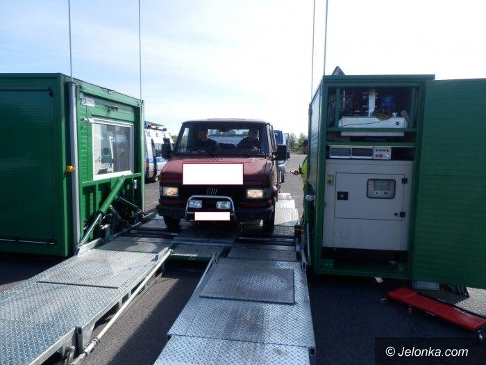 Region: Mobilna stacja kontroli w okolicy Jeleniej Góry