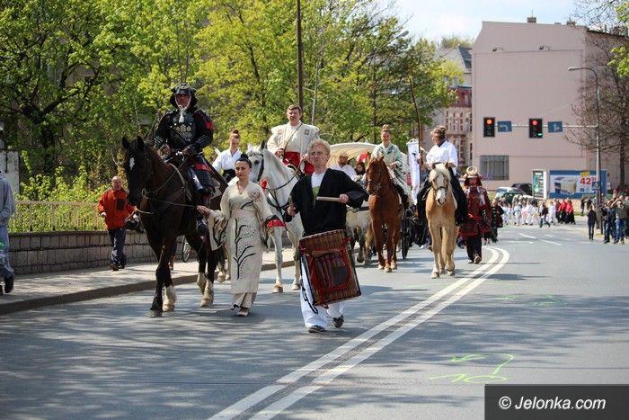 Jelenia Góra: Japońska parada ulicami Jeleniej Góry