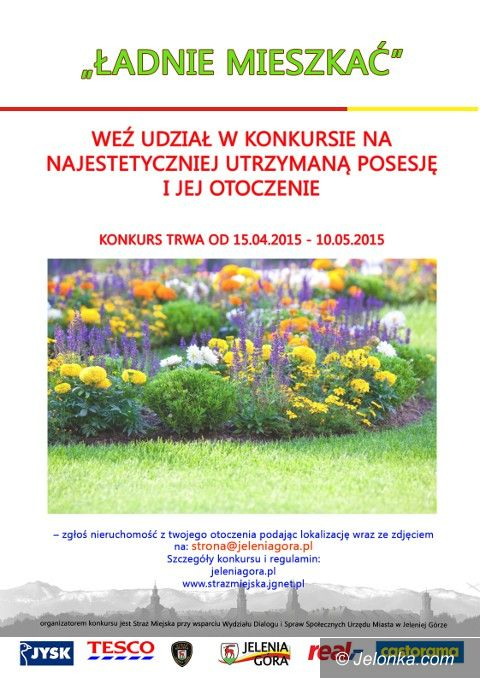 Jelenia Góra: Zadbaj o posesję i zgłoś się do konkursu
