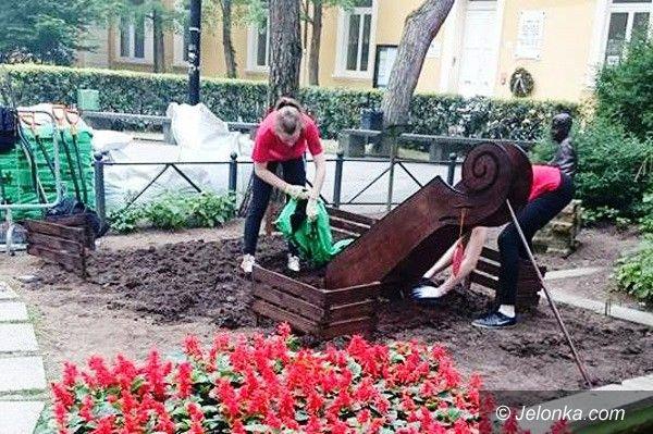 Jelenia Góra: Nasze ogrodniczki podbijają serca Włochów
