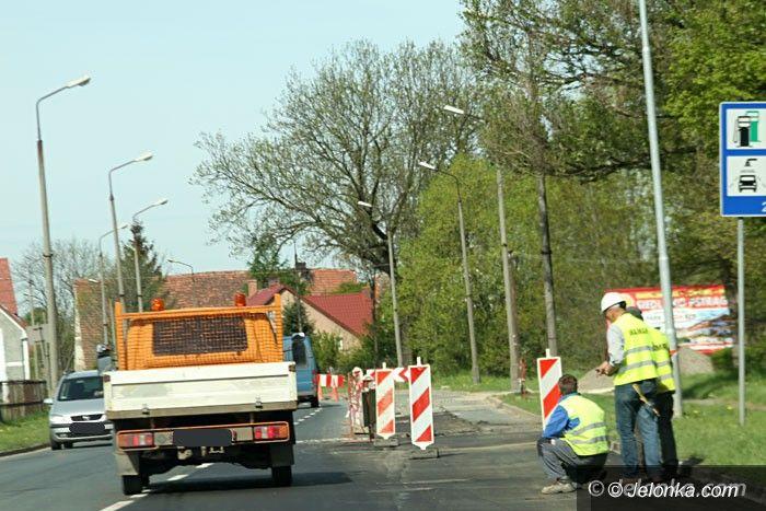 Jelenia Góra: Utrudnienia w ruchu na Wincentego Pola