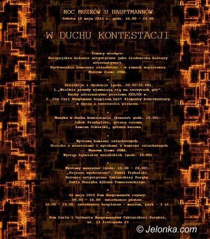 Szklarska Poręba: Noc Muzeów u Hauptmannów