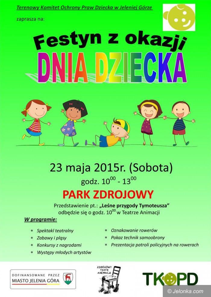 Jelenia Góra: Festyn z okazji Dnia Dziecka