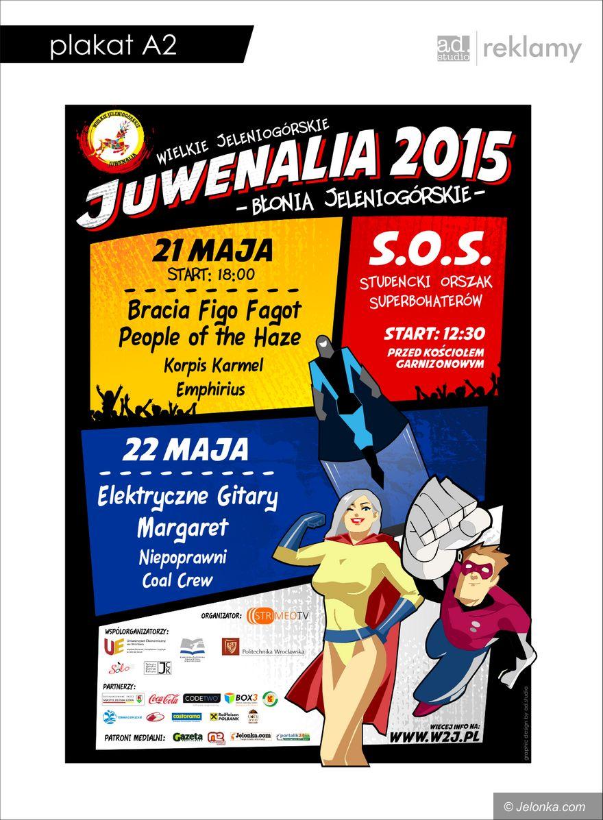 Jelenia Góra: Wielkie Jeleniogórskie Juwenalia 2015 od jutra (aktualizacja)
