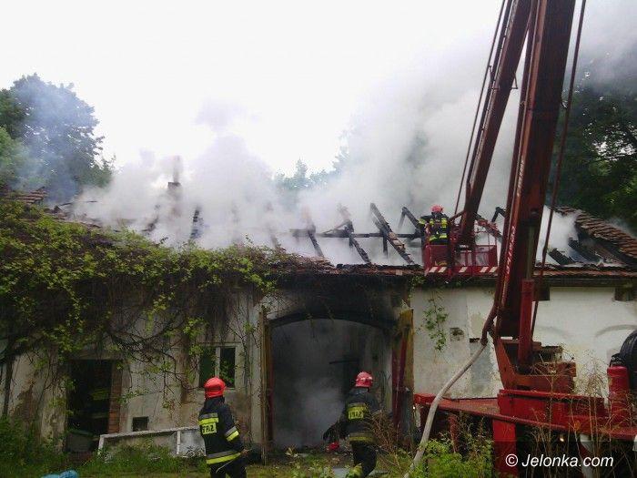 Jelenia Góra: Podpalenie budynku przy ul. Wolności
