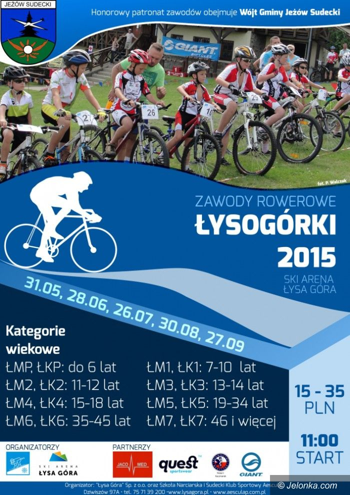 Region: Ruszają Łysogórki MTB 2015