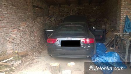Region: Policjanci odnaleźli skradzione w Niemczech auto