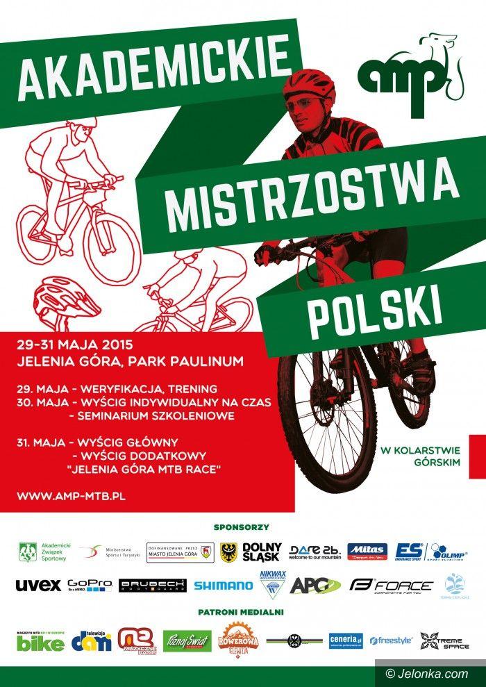 Jelenia Góra: Akademickie Mistrzostwa Polski w Kolarstwie Górskim już w najbliższy weekend