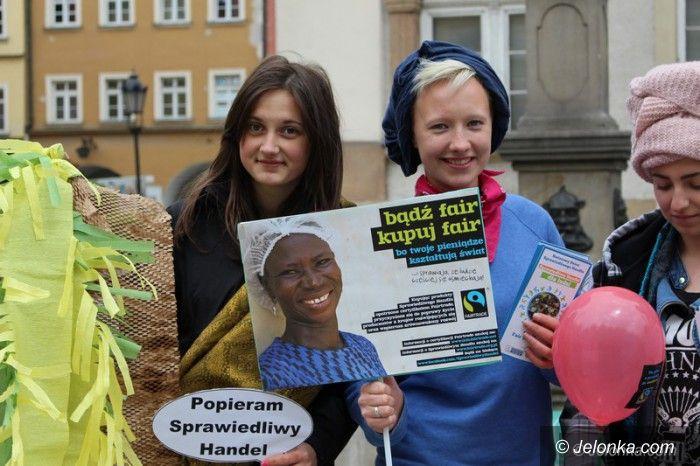 Jelenia Góra: Uczniowie promowali sprawiedliwy handel
