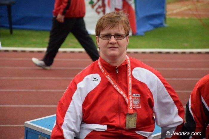 Zielona Góra: MP: 3 złote medale Lucyny Kornobys