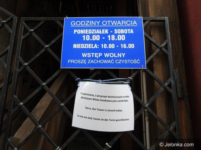 """Jelenia Góra: Wieża Zamkowa """"niechętna"""" turystom?"""