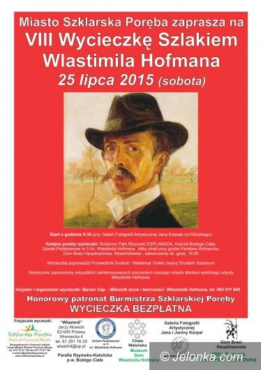 Szklarska Poręba: VIII wycieczka szlakiem Wlastimila Hofmana