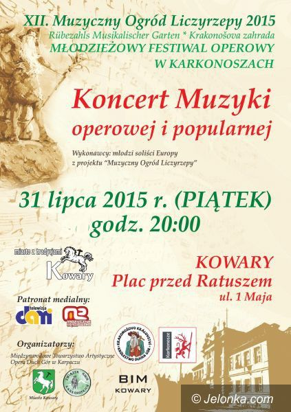 Kowary: XII Muzyczny Ogród Liczyrzepy w Kowarach