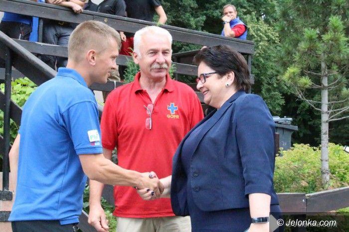 Jelenia Góra: Minister Spraw Wewnętrznych w Jeleniej Górze