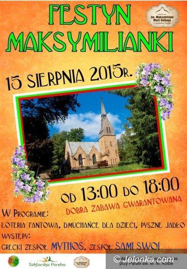 """Szklarska Poręba: Festyn """"Maksymilianki"""" pod Szrenicą"""