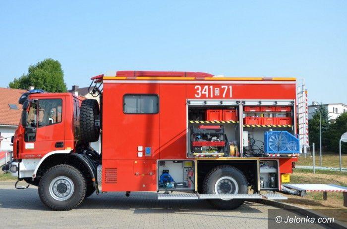 Jelenia Góra: Samochód ratownictwa wodnego dla strażaków