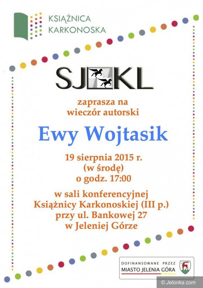 Jelenia Góra: Wieczór z Ewą Wojtasik w Książnicy Karkonoskiej