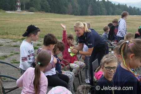 "Jelenia Góra: ""Bezpieczne wakacje"" – spotkania na półkoloniach"
