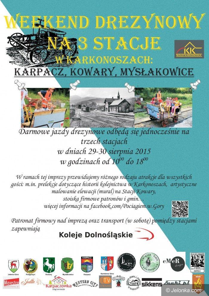 Region: Drezynowy weekend w obronie kolei