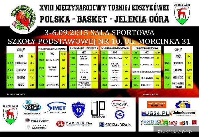 Jelenia Góra: Międzynarodowy turniej Polska Basket od jutra!