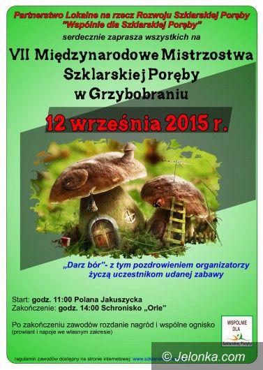 Szklarska Poręba: Mistrzostwa w grzybobraniu już w sobotę