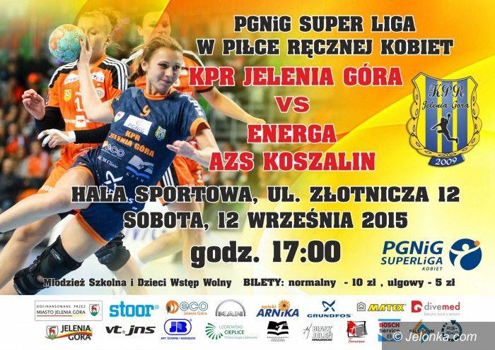 Jelenia Góra: Superliga: O punkty z AZS–em Koszalin