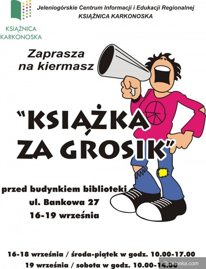Jelenia Góra: Książka za grosik już od dzisiaj!