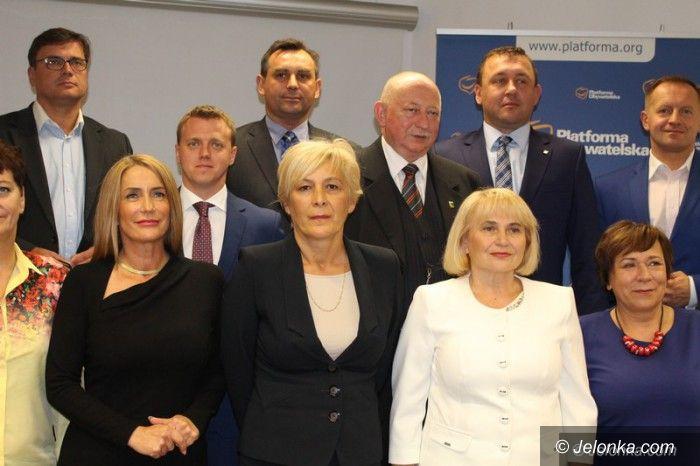 Jelenia Góra: Platforma zaprezentowała kandydatów