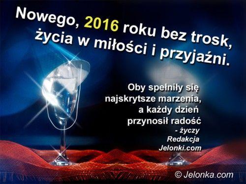 Jelenia Góra: Szczęśliwego nowego roku!