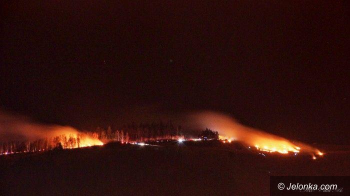 Region: Sylwestrowe pożary – płonęły nieużytki i dach budynku