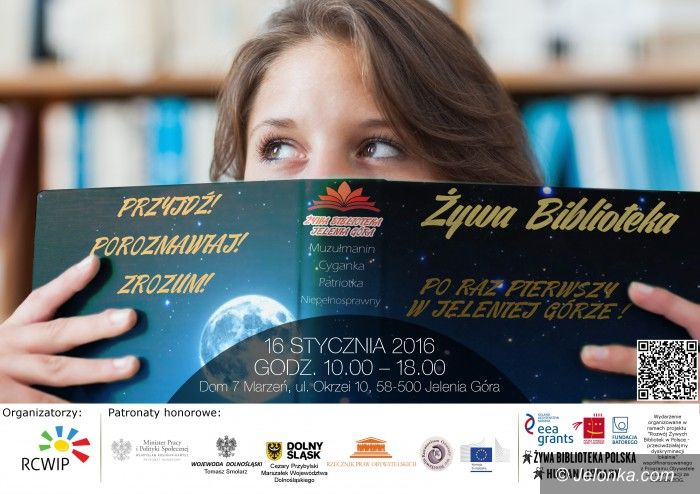 Jelenia Góra: Spotkanie z żywą książką – już jutro