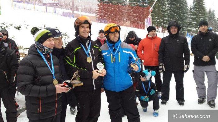 Region: Policjant z Jeleniej Góry drugi w slalomie gigancie