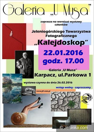"""Karpacz: Wystawa JTF """"Kalejdoskop"""" pod Śnieżką"""