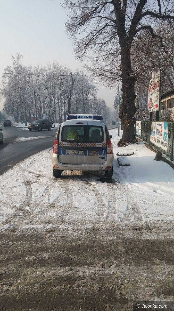 Jelenia Góra: Czytelnik: tak zaparkowali miejscy strażnicy
