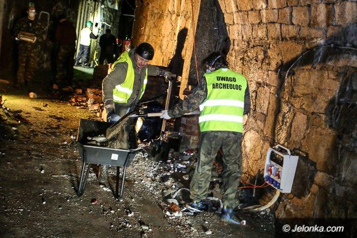Jelenia Góra: Pasjonaci sprzątali jeleniogórskie podziemia